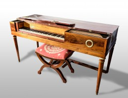 Square piano, original, by Erard (Parigi, 1817) [FF-c4]